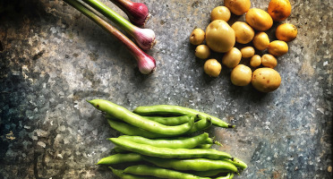 La Ferme d'Artaud - Lot pommes de terre nouvelles + fèves + ail frais