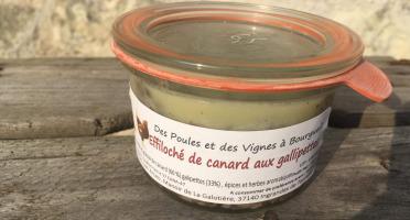 Des Poules et des Vignes à Bourgueil - Effiloché De Canard Aux Galipettes