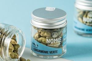 Nomie, le goût des épices - Cardamome Verte