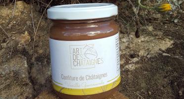 L'Art des Châtaignes - Confiture De Châtaignes - Vanille Gourmande