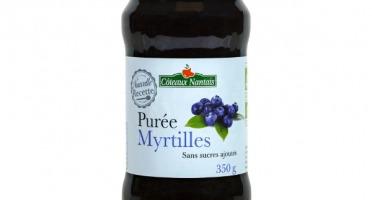 Les Côteaux Nantais - Purée Myrtilles 350g