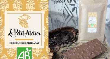 Le Petit Atelier - Tablette Chocolat Au Lait Et Riz Soufflé