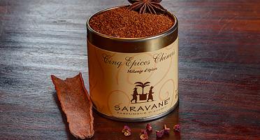 SARAVANE - Cinq épices chinois