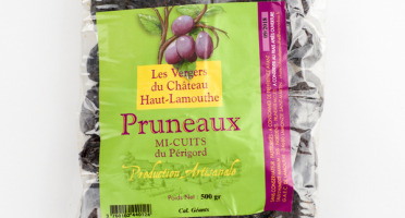 Château Haut-Lamouthe - Pruneaux Mi-cuits Du Périgord - 3x1kg