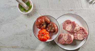 BEAUGRAIN, les viandes bien élevées - Osso Buco de Veau Limousin (350g X 5)