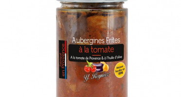 Conserves Guintrand - Aubergines Frites A La Tomate Yr Bocal 580 Ml