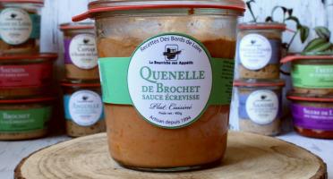 La Bourriche aux Appétits - Quenelle de Brochet Sauce Écrevisse