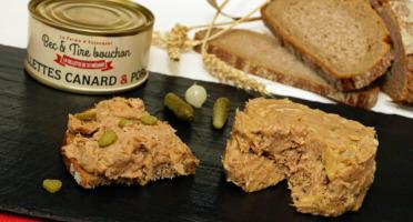 La ferme d'Enjacquet - Rillettes Porc / Canard