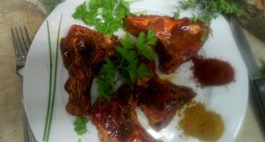 Ferme du caroire - Côtelettes de Viande de Chèvre marinées x8