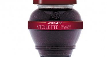 Domaine des Terres Rouges - Moutarde Violette Au Moût De Raisin 200g