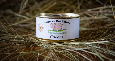 La Ferme du Mas Laborie - Grillons limousins - 180 g