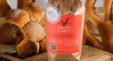 Du bio dans l'assiette - Farine Blé T65 Bio 10kg
