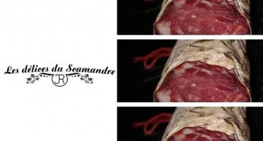 Les Délices du Scamandre - Saucisson de Taureau Sans Nitrite x3