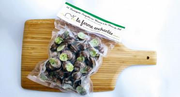 La Ferme Enchantée - [SURGELÉ] 100 Escargots Petits Gris au Beurre à La Fleur de Sel