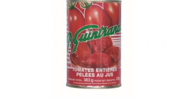 Conserves Guintrand - Tomates Entières De Provence Pelées Au Jus - Boite 1/2