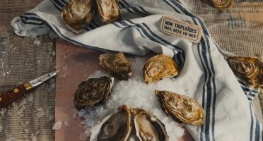 Thalassa Tradition - Huîtres Fines de Mer N°3 Bio Blainville Normandie - 12 pièces