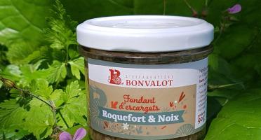 L'escargotière BONVALOT - Fondant d'Escargot Roquefort et Noix