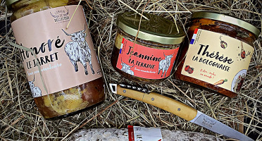"Domaine de Bellecour - ""Coffret Full Boeuf Highland Cattle""- 1 bourguignon, 1 terrine,  1 bolognese, 1 saucisson"