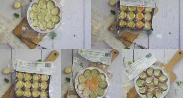 Limero l'Escargot Mayennais - Assortiment d'escargots : Lot de 5 Assiettes de 12 Escargots (feuilletés, croquilles, coquilles)