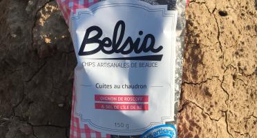 Chips BELSIA - Chips Artisanales à l'Oignon Rose AOP de Roscoff x10