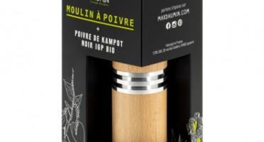 Epices Max Daumin - Moulin à Poivre et Poivre de Kampot Bio & IGP