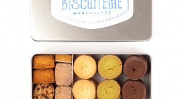 Compagnie Générale de Biscuiterie - Boîte En Métal Avec Diamants, Palets Bretons, Pavés De La Butte®, Cookies