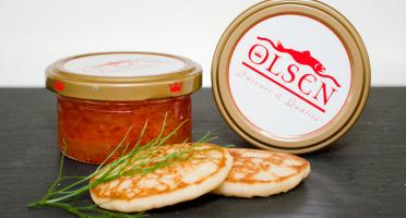 Olsen - Oeufs de saumon keta, verrine 50g