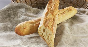 Maison Boulanger - demi baguette Tradition Pré-cuite surgelée par 3