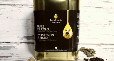 Le Manoir du Bocage - Huile Vierge de Colza - 4x3L