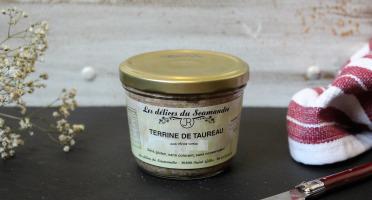 Les Délices du Scamandre - Terrine de Taureau aux Olives Vertes - 180g