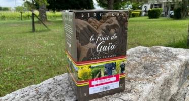 Vignobles Fabien Castaing - AOC Bergerac Rouge Le Fruit de Gaïa BiB - 5 litres