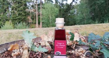 Vinaigres de la Carrière - Vinaigre Balsamique à la cerise bio - 100 ml
