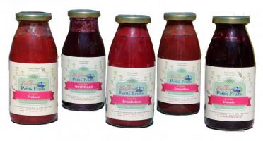 La Ferme des petits fruits - Offre Coulis De Fruits Rouges