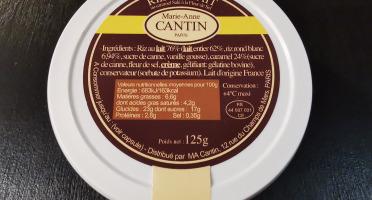 La Fromagerie Marie-Anne Cantin - Riz Au Lait Au Caramel