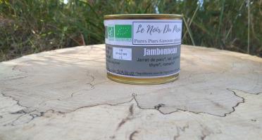 Le Noir du Picou Elodie Ribas - Jambonneau de Porc Gascon Bio
