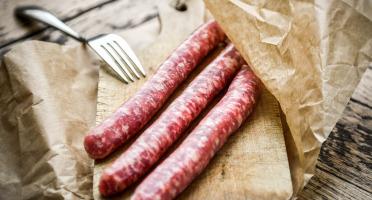 La Ferme d'Auzannes - [Précommande] Chipolatas de porc SANS CONSERVATEUR (x6)