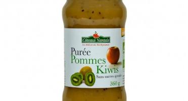 Les Côteaux Nantais - Purée Pommes Kiwis 360g Demeter