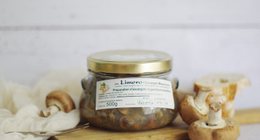 Limero l'Escargot Mayennais - Préparations D'escargots Et Garniture Forestière 500g
