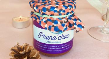 Ferme du Lacay - Pâte À Tartiner Aux Pruneaux Et Chocolat - 220g