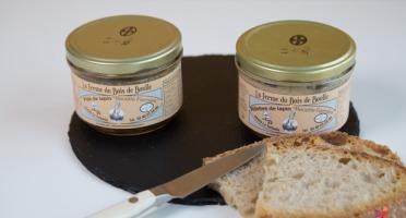 Ferme du Bois de Boulle - Un pâté et une rillettes de lapin