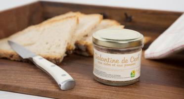 La Ferme de l'Etang - Galantine De Cerf Au Cidre Et Aux Pommes, 100g