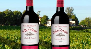 Château Belles-Graves - AOC Lalande de Pomerol 2015 - Les Terrasses de Belles-Graves 2x75cl