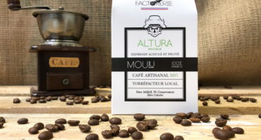 Cafés Factorerie - Café Mexique Altura Bio MOULU - 250g