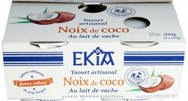 BASTIDARRA - Yaourt Noix de coco 4*125 gr