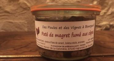 Des Poules et des Vignes à Bourgueil - Pâté De Magret Fumé Aux Cèpes