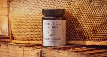 Les Ruchers de Normandie - Velours de Cassis au miel 230g