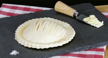 Maison Boulanger - Feuilleté Jambon-champignon Surgelé Cru  par 4