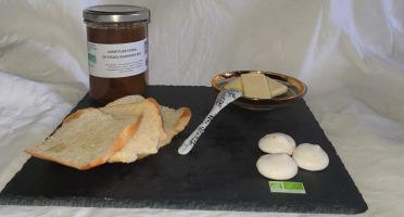 La Ferme du Montet - Confiture Extra de figues blanches BIO - 220 g