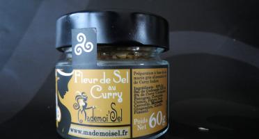 Le Panier à Poissons - Fleur De Sel Au Curry, 100% Sel De Guérande