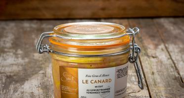 La Ferme Schmitt - Foie Gras de Canard d'Alsace Mi-cuit au Gewurztraminer Vendanges Tardives, en verrine de 300 g